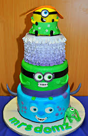 ipernity minions monsters inc cake by bron c