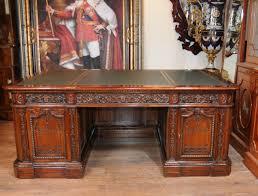 Partner Desks Home Office by Mahogany Desk Presidents Desk Resolute Partners Desk
