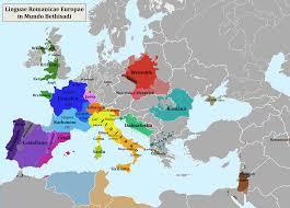 Indo European Language Map by Romance Languages Ibwiki