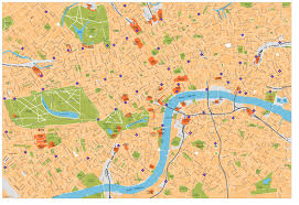 London Maps Download Downtown London Map Major Tourist Attractions Maps
