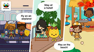 Toca Kitchen Recipes Toca Life Vacation 1 0 2 Apk Download Android Education Apps