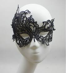 black masquerade masks for women 2015 lace party mask fashion hollow out black