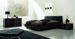 Italian Leather Bedroom Sets Modern Italian Bedroom Set With Black Leather Bed Minnesota