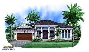West Indies Decor West Indies House Plan 1 Story Island Style Architecture With Pool