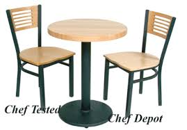 Cafe Tables For Sale by John Boos Butcher Blocks Portable Chef Demonstration Table