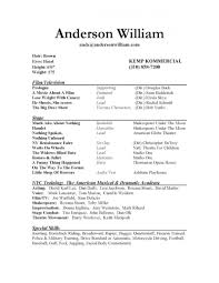 Resume Samples Download Free by Doc 12751650 Musical Theatre Resume Examples Theater Music
