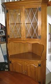 Ethan Allen Corner Cabinet by Pair Of Vintage Ethan Allen Nutmeg Maple Twin Size Headboards 10