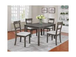 crown mark henderson 5 piece dining table and chair set del sol