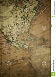 North America World Map by Old World Map North America Stock Photo Image 40296999