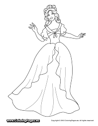 fairy princess coloring pages bestofcoloring com