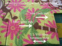 no sew fleece blanket adventures of a diy mom