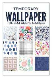 temporary wall paper where to buy temporary wallpaper removable wallpaper