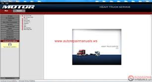 motor heavy truck service v 13 2013 full instruction auto