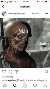 Xray Meme - x ray skull and bullet memes hit instagram sell now before this is