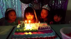 singing happy birthday frozen birthday party kids singing happy birthday
