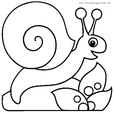 snail coloring spring earth coloring pages