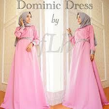 gamis modern 25 model baju muslim untuk wanita terbaru 2016