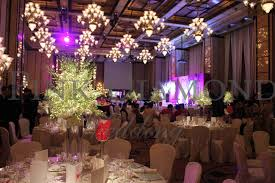 modern style diamond wedding decorations with diamond wedding