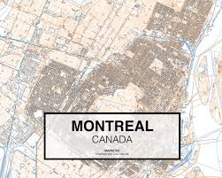 Map Montreal Canada by Download Montreal Dwg Mapacad