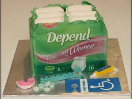 depends cake for women cakecentral com