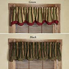 Double Swag Shower Curtain With Valance Green Kitchen Curtain Valances Interesting Curtains Valance Ideas