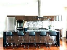 but cuisine mignon chaise ilot central cool pour cuisine design et conception