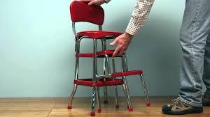 Vintage Cosco High Chair Retro Stepstool Youtube
