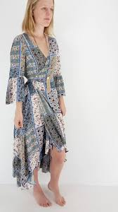 boho wrap noosa style weekend wear womens boho wrap dress cover up