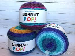 difference in bernat pop yarn cakes caron cakes mandala and