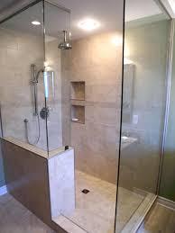 showers how to build bathroom shelves next to shower shower
