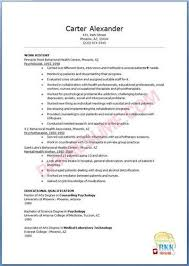 Clinical Psychologist Resume About Sample Psychologist Resumes