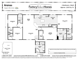 mobile home double wide floor plan remarkable arenas x sqft