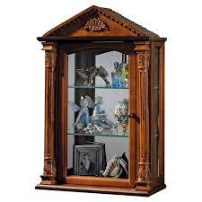 wall mounted curio cabinet design toscano essex hall wall mounted curio cabinet reviews wayfair