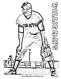 Jackie Robinson Coloring Page Yiqiqu Jackie Robinson Coloring Page