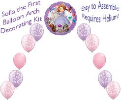 Balloon Arch Decoration Kit Sofia The First Balloon Arch Diy Kit Party Decoration Sofia303