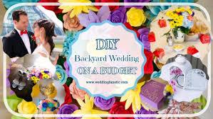 diy backyard wedding on a budget wedding fanatic