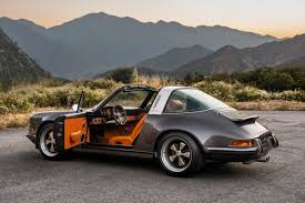 orange porsche targa dream car porsche 911 targa by singer u2013 mr simple