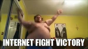 Victory Meme - internet fight victory internet fight know your meme