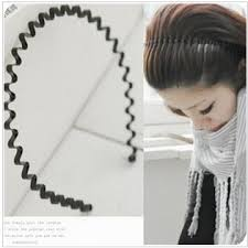 hair bands for zoshi simple design metal wave headband hair bands for women