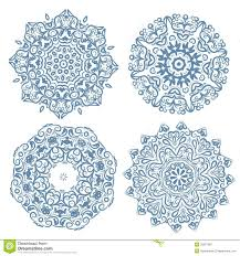 set of arabesque ornament for your design royalty free stock