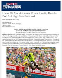 lucas oil pro motocross monday morning coffee direct motocross canada