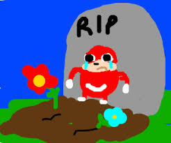 the ugandan knuckles meme is dead p i o drawing by lamby