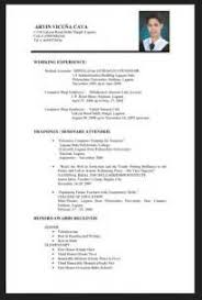 Sample Resume Format For Fresh by Sample Resume Malaysian Student Augustais
