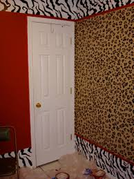 create a gorgeous room bedroom decorating ideas in leopard print