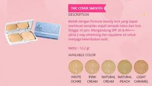 Bedak Pixy pixy twc cover smooth warna light caramel 122 gr update harga terkini