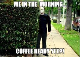 Stalking Meme - michael myers bush stalking imgflip
