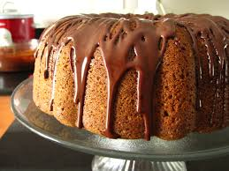 espresso pound cake with chocolate glaze vélez delights