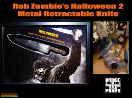 halloween 2 rob zombie u0027s metal retractable knife original movie prop