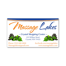 Massage Business Cards Examples Business Card Design Franchise Print Shop San Diego