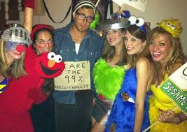 Sesame Street Halloween Costumes Adults Easy Peasy Diy Halloween Costume Idea Sesame Street
